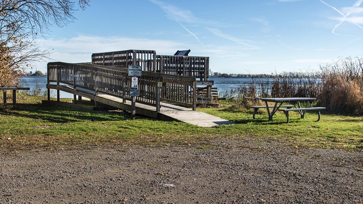 Plum Brook Observation Deck at Eagle Point