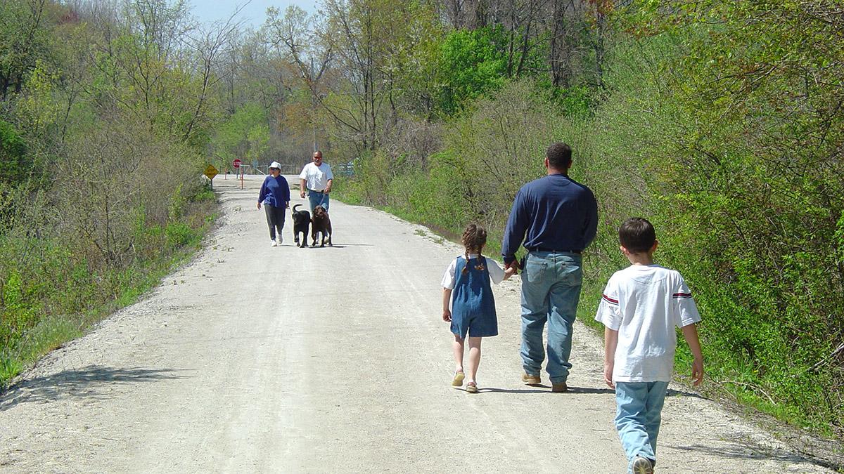 Huron River Path